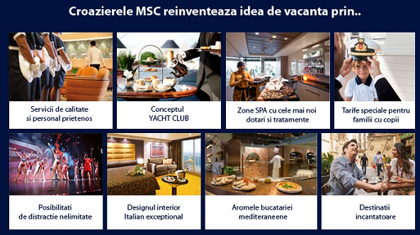 Oferte early booking sezon 2015 croaziere MSC